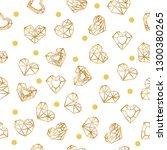 valentine's day. vector... | Shutterstock .eps vector #1300380265