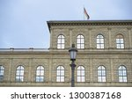 the facade of residence palace... | Shutterstock . vector #1300387168