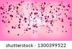 realistic hearts vector...   Shutterstock .eps vector #1300399522