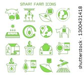 smart farm and agriculture... | Shutterstock .eps vector #1300431418