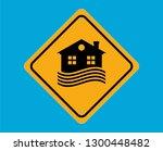 flood sign vector design | Shutterstock .eps vector #1300448482