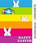 bunny,renkli,kulak,mutlu,tavşan,evde beslenen hayvan,gökkuşağı,etiket,şerit,şablon,duvar kağıdı