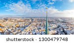 beautiful aerial panoramic view ... | Shutterstock . vector #1300479748