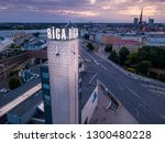 riga   june  20  aerial view of ... | Shutterstock . vector #1300480228