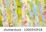 colorful abstract painted ... | Shutterstock . vector #1300543918