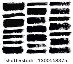 brush strokes. vector... | Shutterstock .eps vector #1300558375
