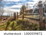 incredibly beautiful wooden...   Shutterstock . vector #1300559872