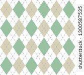 argyle check pattern image. | Shutterstock .eps vector #1300587535