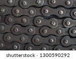 chain links texture | Shutterstock . vector #1300590292
