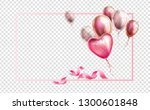valentines day  8 of march... | Shutterstock .eps vector #1300601848