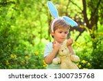 love easter. family holiday....   Shutterstock . vector #1300735768