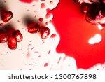closeup view of grain red... | Shutterstock . vector #1300767898
