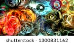 Abstract Psychedelic Backgroun...