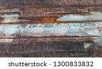 rusty metal. rust. rusty metal... | Shutterstock . vector #1300833832