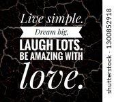 motivational quotes written on... | Shutterstock . vector #1300852918