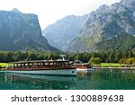 lake konigsee  bavaria germany  ...   Shutterstock . vector #1300889638