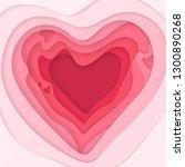 vector abstract pink background ... | Shutterstock .eps vector #1300890268