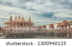hindu temple architecture as... | Shutterstock . vector #1300940125