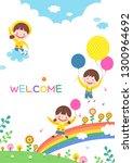 llustration of cartoon... | Shutterstock .eps vector #1300964692