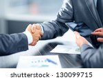 Stock photo business handshake 130099715