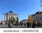 ljubljana  slovenia   october... | Shutterstock . vector #1301002198