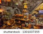 latvia  riga 02 01 2016 cafe in ... | Shutterstock . vector #1301037355
