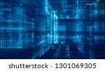 abstract background. digital... | Shutterstock . vector #1301069305