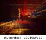 abstract background. digital... | Shutterstock . vector #1301069332