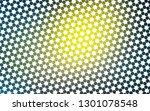 light blue  yellow vector cover ... | Shutterstock .eps vector #1301078548