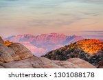 zion national park. beautiful... | Shutterstock . vector #1301088178
