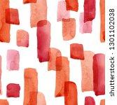 seamless pattern of watercolor...   Shutterstock . vector #1301102038