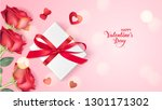 happy valentine's day. holiday... | Shutterstock .eps vector #1301171302