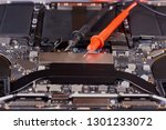 probes of tester and... | Shutterstock . vector #1301233072