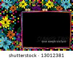 vector floral background | Shutterstock .eps vector #13012381