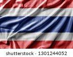 waving detailed national...   Shutterstock . vector #1301244052