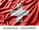 waving detailed national...   Shutterstock . vector #1301244055