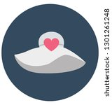 affection isolated vector icon ... | Shutterstock .eps vector #1301261248