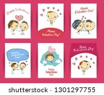 Hand Drawn Vector Valentines...