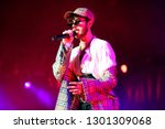 oscar and the wolf tour  ... | Shutterstock . vector #1301309068