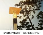 streetlamp at the beach in the... | Shutterstock . vector #1301333242