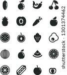 solid black vector icon set  ...   Shutterstock .eps vector #1301374462