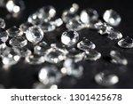 scattering of white star... | Shutterstock . vector #1301425678