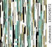 irregulary striped variegated... | Shutterstock .eps vector #1301428072
