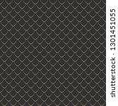 dragon scale seamless pattern   ... | Shutterstock .eps vector #1301451055