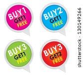 sticker or label for marketing... | Shutterstock . vector #130149266