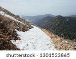 Snow Covered Mountain Range...