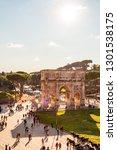 rome  italy   november 17  2018 ... | Shutterstock . vector #1301538175