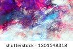 bright artistic splashes.... | Shutterstock . vector #1301548318