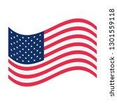 national emblem american flag | Shutterstock .eps vector #1301559118