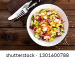 healthy vegetarian vegetable... | Shutterstock . vector #1301600788